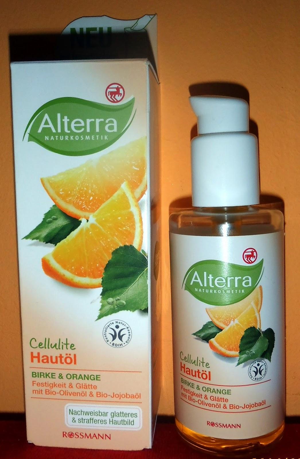 Alterra Cellulite – olejek do ciała brzoza i pomarańcza