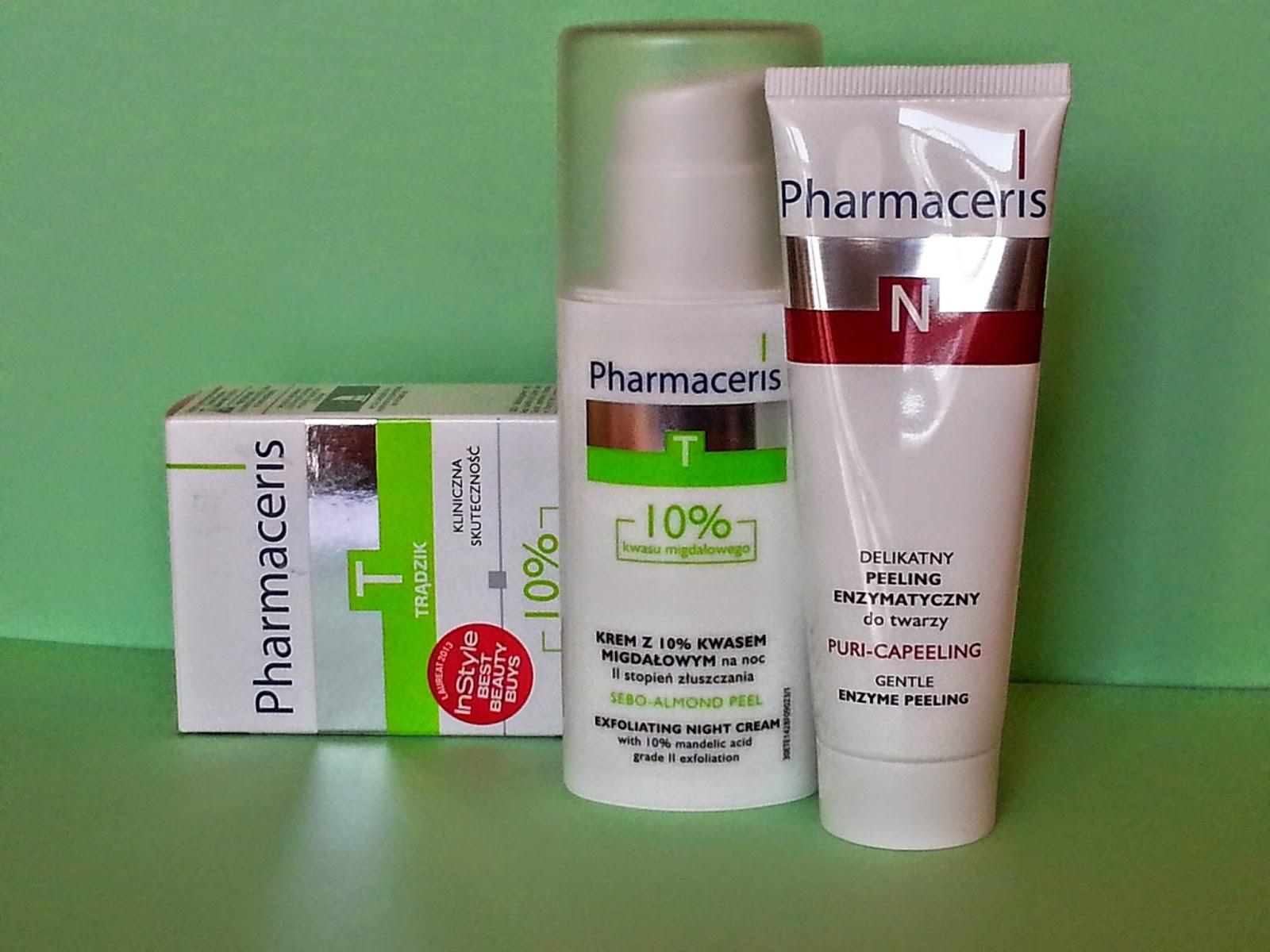 Pharmaceris Sebo Almond Peel 10% & Pharmaceris Puri Capeeling – DUET doskonały