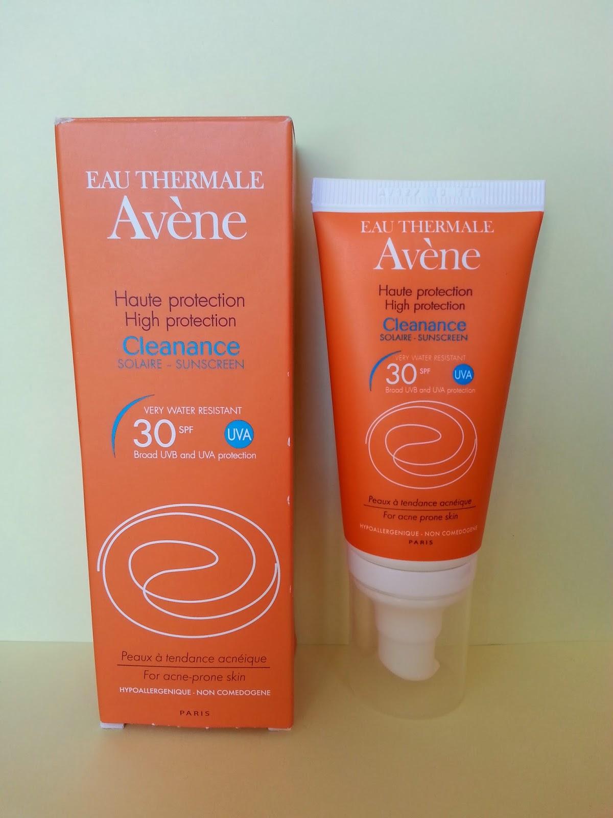 Avene Cleanance emulsja ochronna SPF 30 do skóry tłustej i trądzikowej