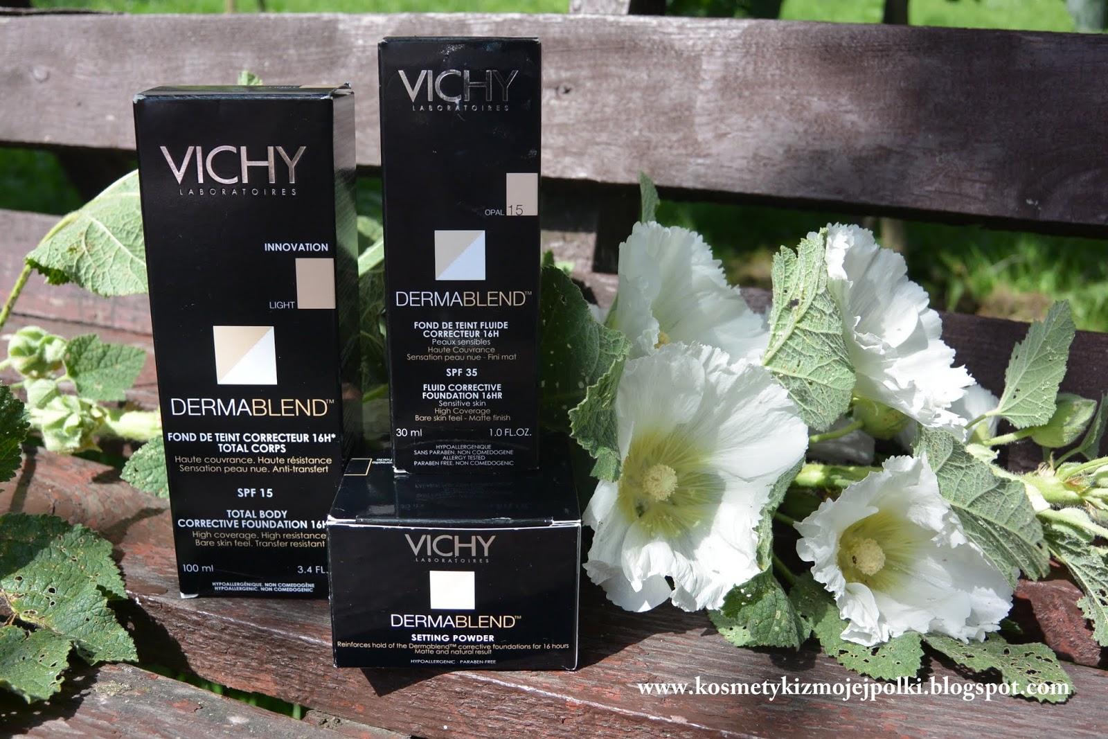 VICHY DERMABLEND – makijaż korygujący bez efektu maski