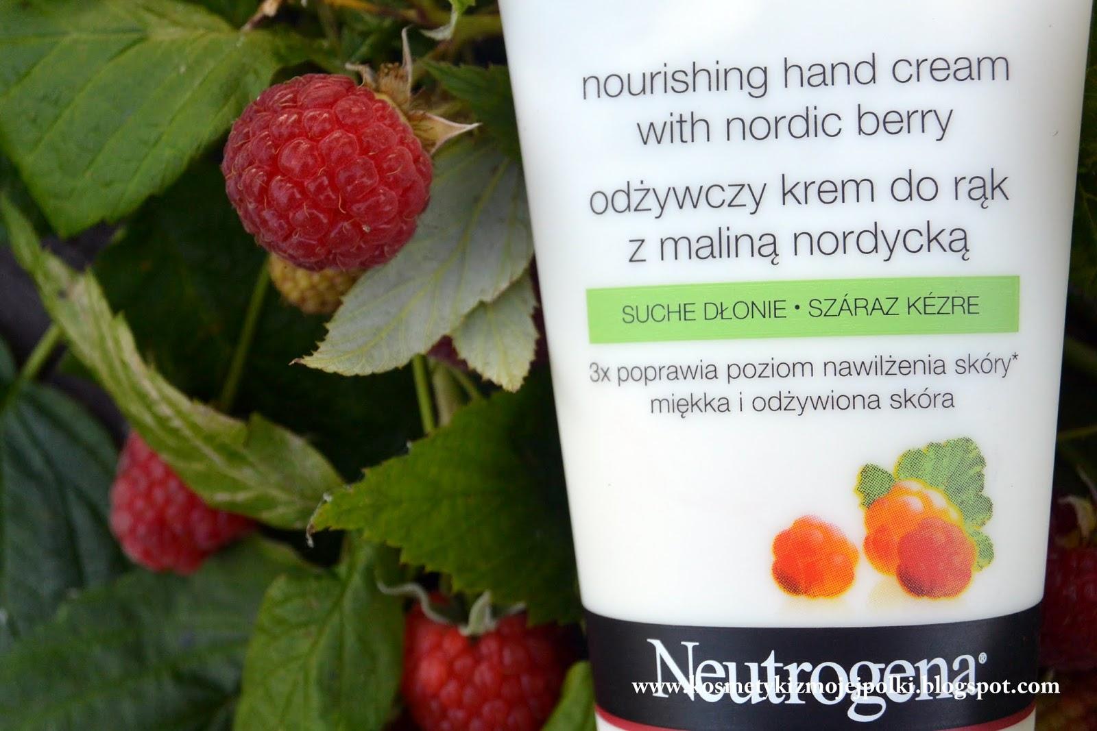 W pogoni za maliną nordycką – krem do rąk Neutrogena
