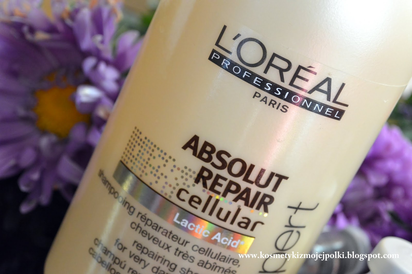 Na ratunek zniszczonym włosom – L'Oreal Professionnel Absolut Repair Cellular