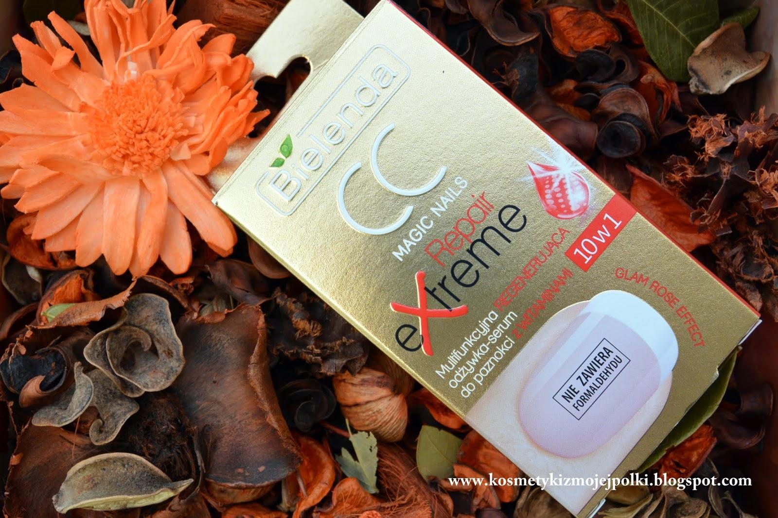BIELENDA CC MAGIC NAILS Repair eXtreme – Multifunkcyjna regenerująca odżywka – serum do paznokci z Witaminami