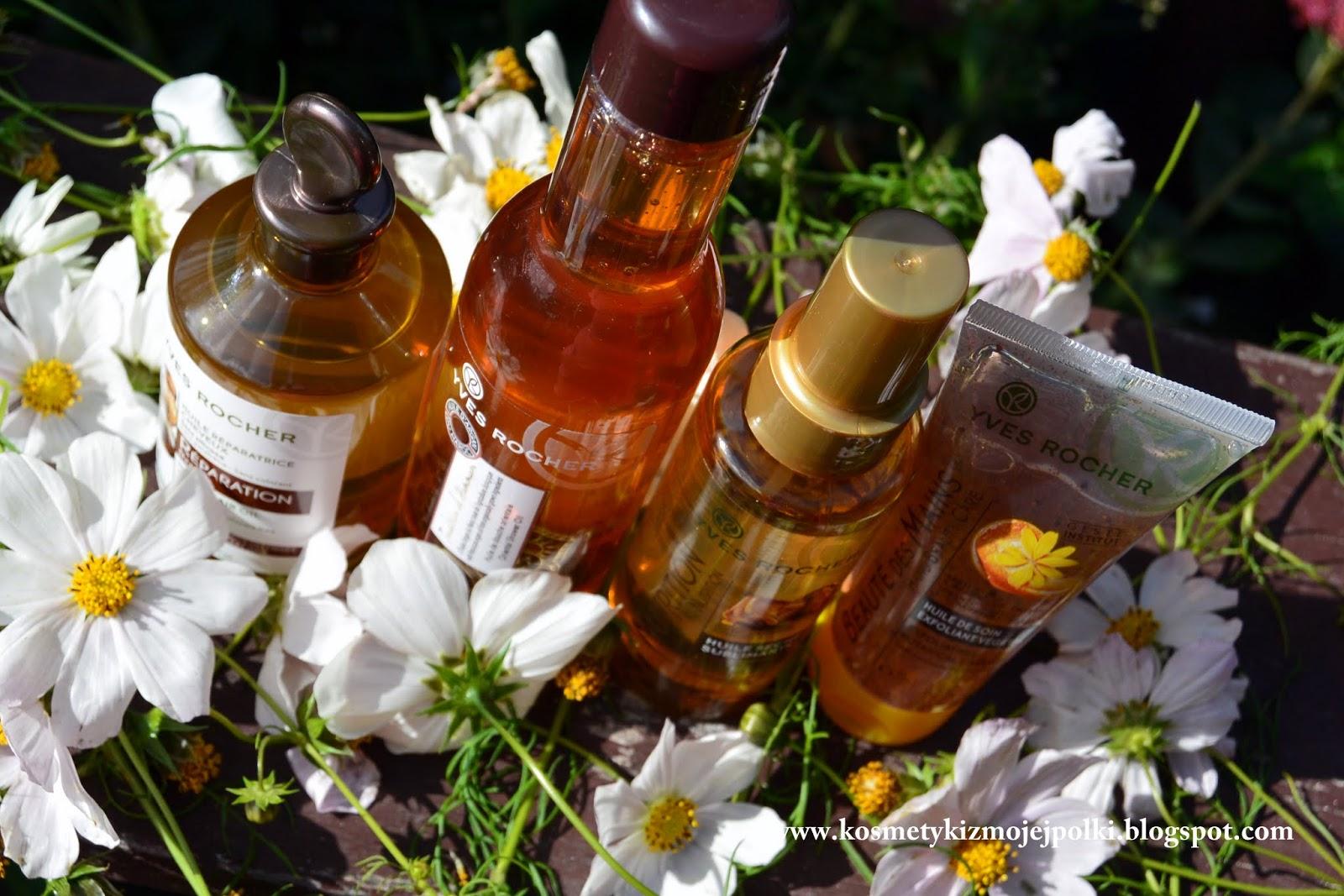 Oleje i olejki z Yves Rocher ☺