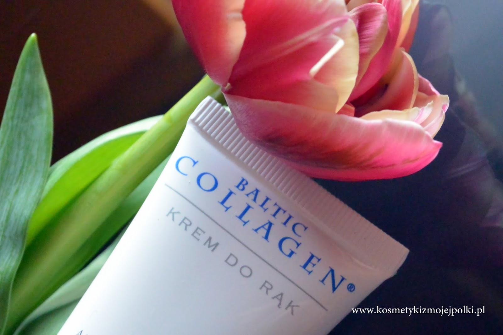 Dbajmy o dłonie / Krem do rąk z aktywnym kolagenem BALTIC COLLAGEN