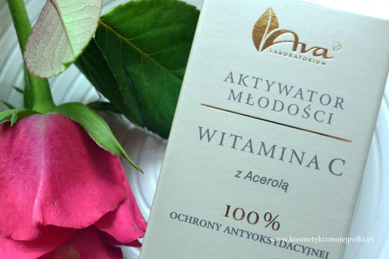 AKTYWATOR MŁODOŚCI WITAMINA C z Acerolą / 100% ochrony antyoksydacyjnej z AVA Laboratorium