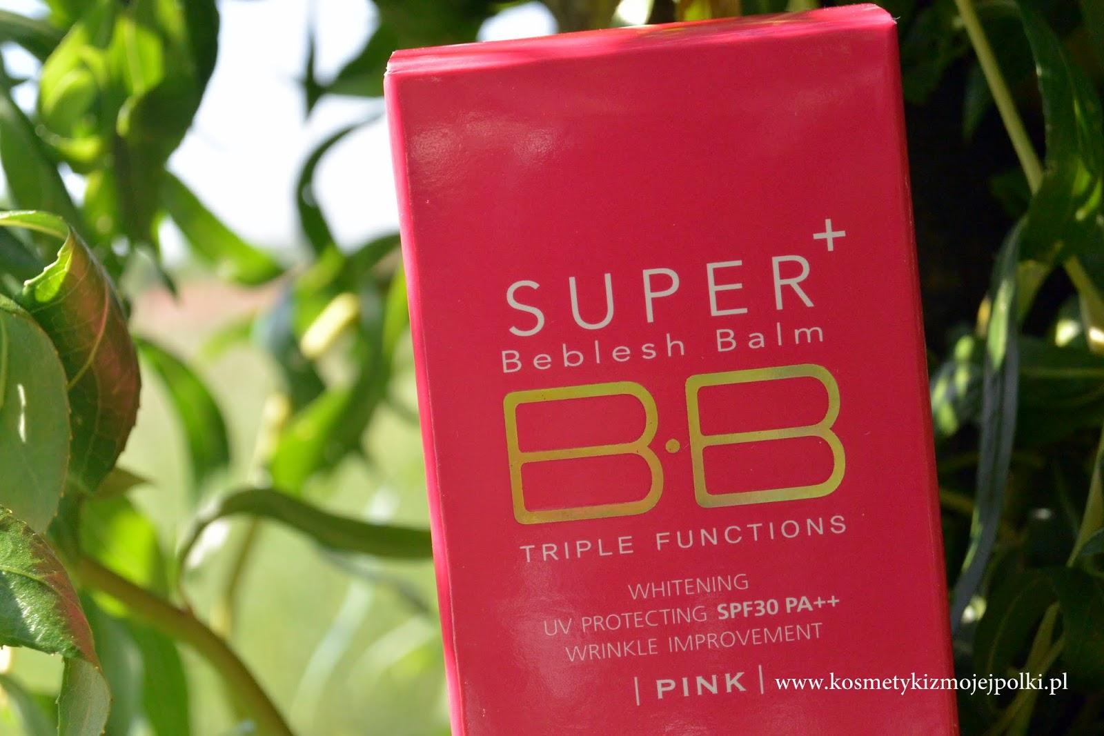 SKIN79 Hot Pink Super+ Beblesh Balm Triple Functions / Koreański Krem BB