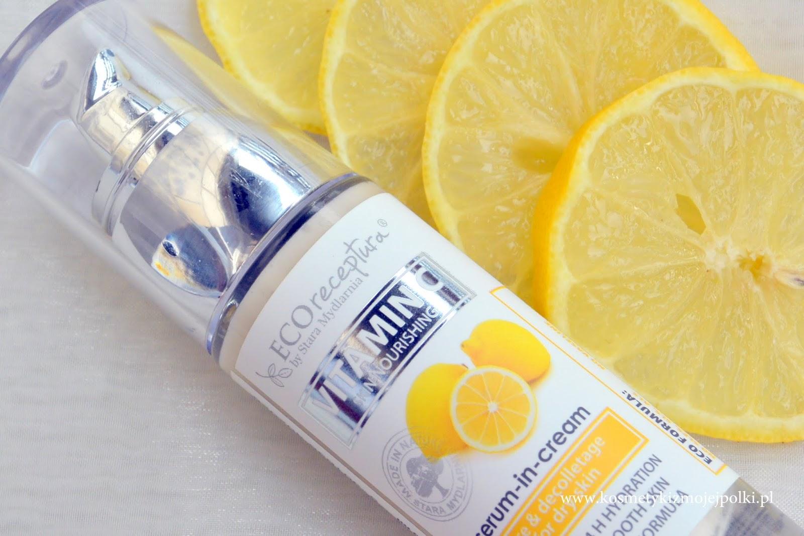 VITAMIN C serum-in-cream | Kremowe serum do twarzy Stara Mydlarnia