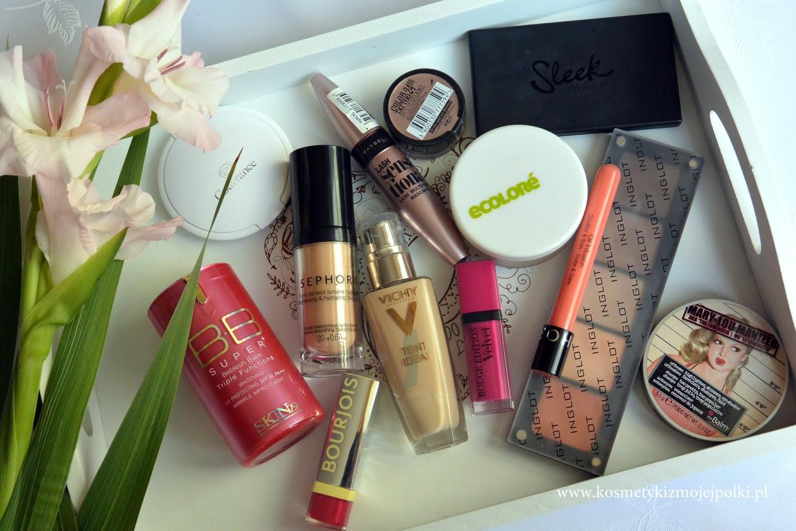 Ulubieńcy ostatnich miesięcy – makijaż | wrzesień 2015
