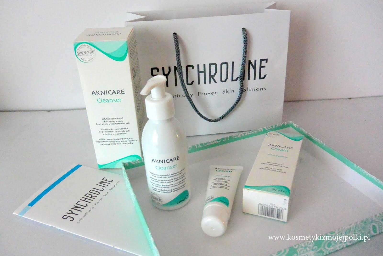 Pielęgnacja skóry tłustej i trądzikowej | SYNCHROLINE Acnicare
