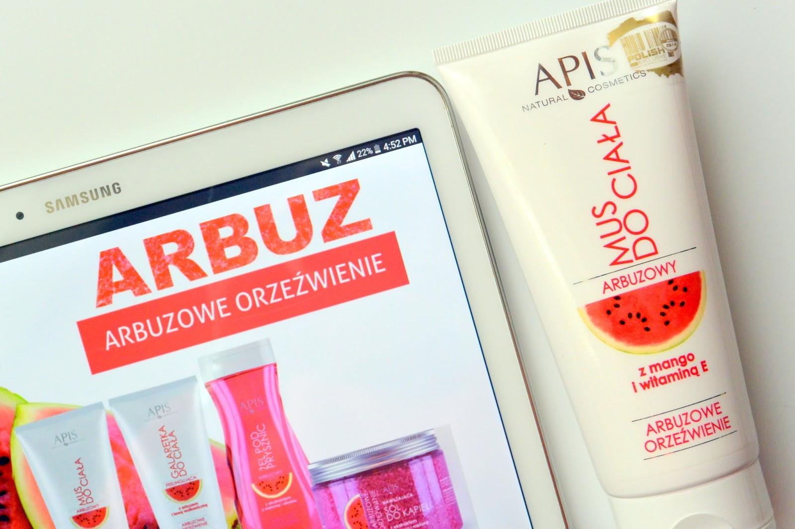 Wiosenne arbuzowe orzeźwienie z musem APIS Natural Cosmetics