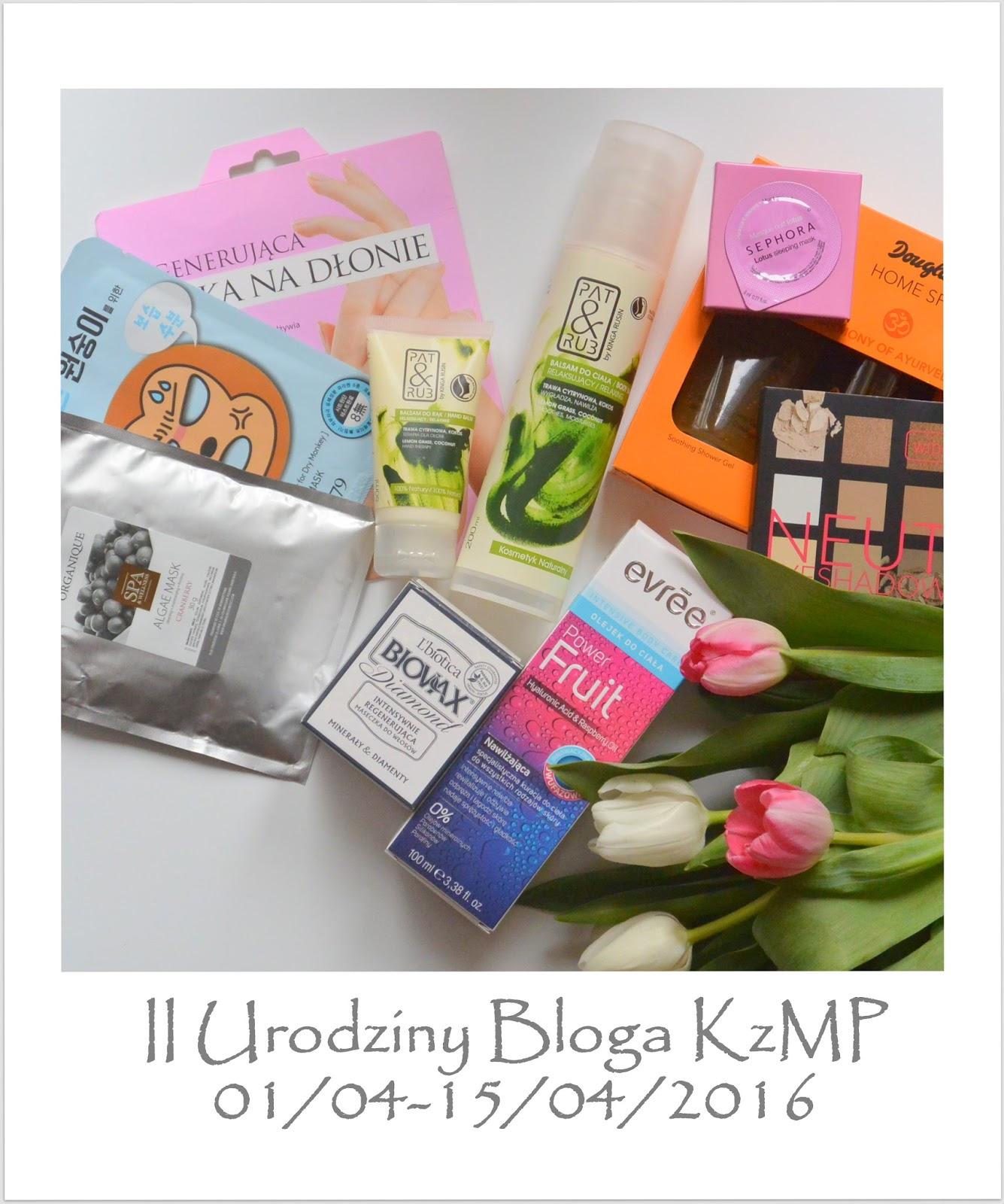 Drugie Urodziny Bloga + Beauty Box dla Was Trzecia Edycja !!!