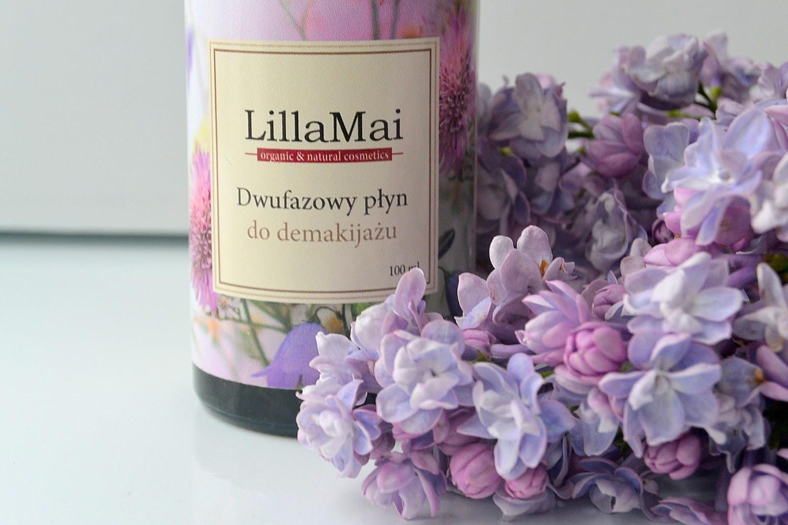Naturalny dwufazowy płyn do demakijażu | Lilla Mai