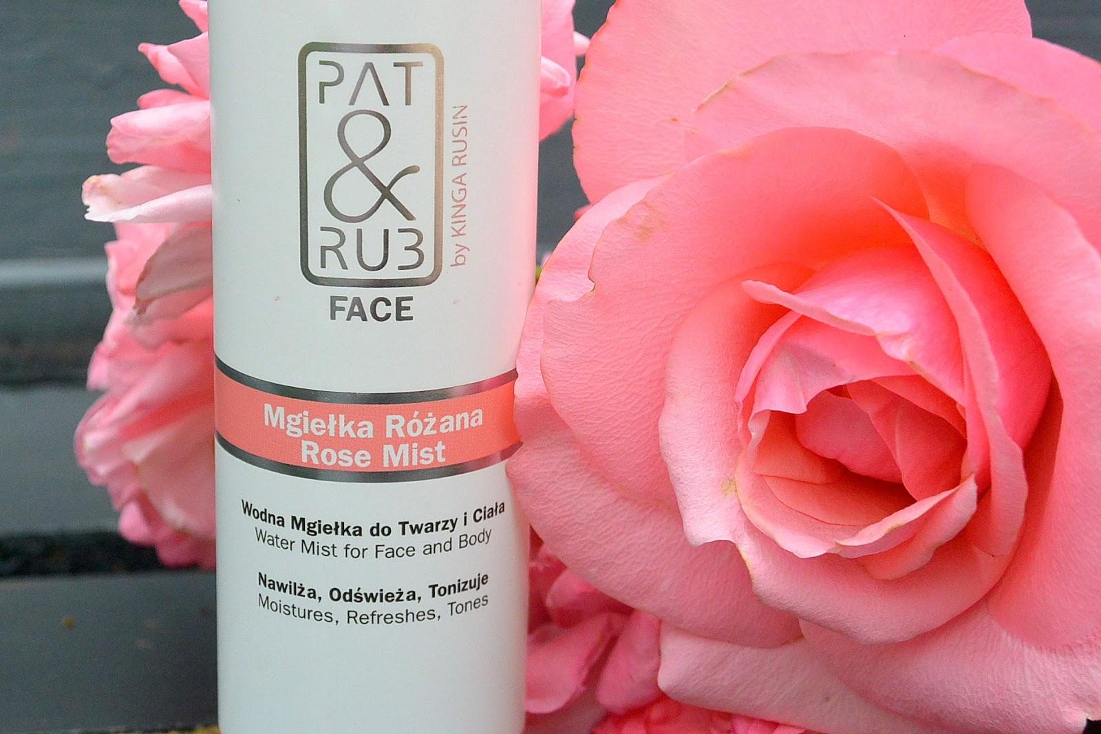 Idealna na upały Różana mgiełka do twarzy i ciała PAT&RUB