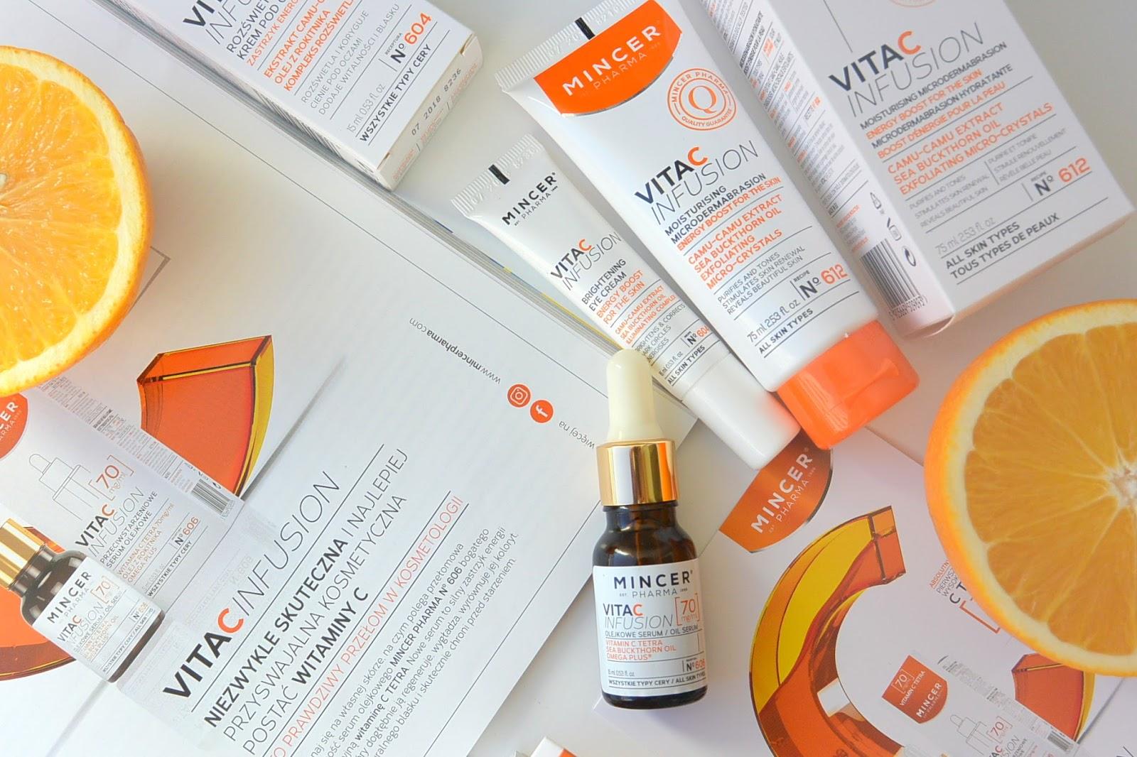 Zastrzyk energii dla skóry | VITA C INFUSION Mincer Pharma
