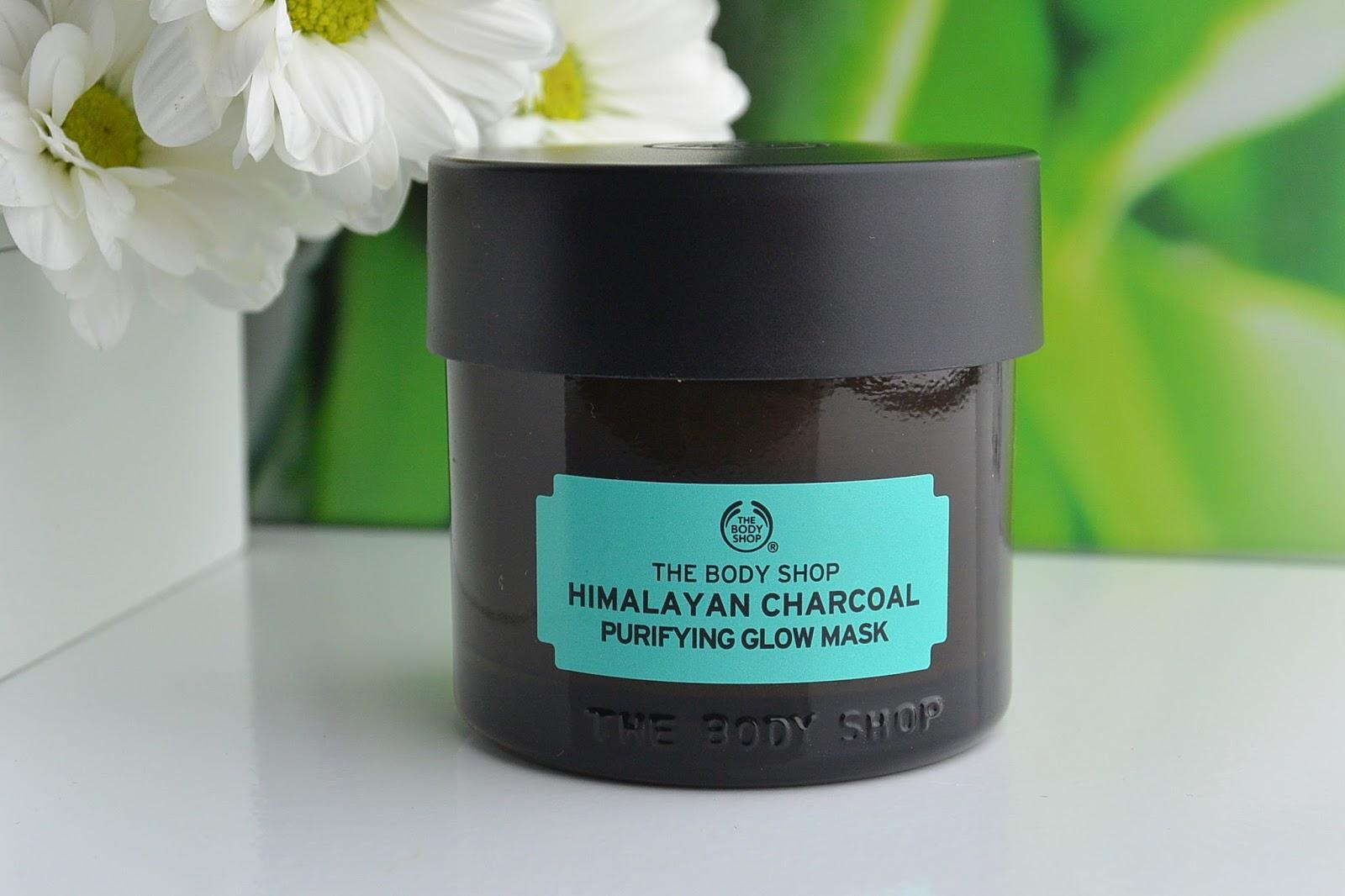 Oczyszczająca maska dodająca blasku | HIMALAYAN CHARCOAL The Body Shop