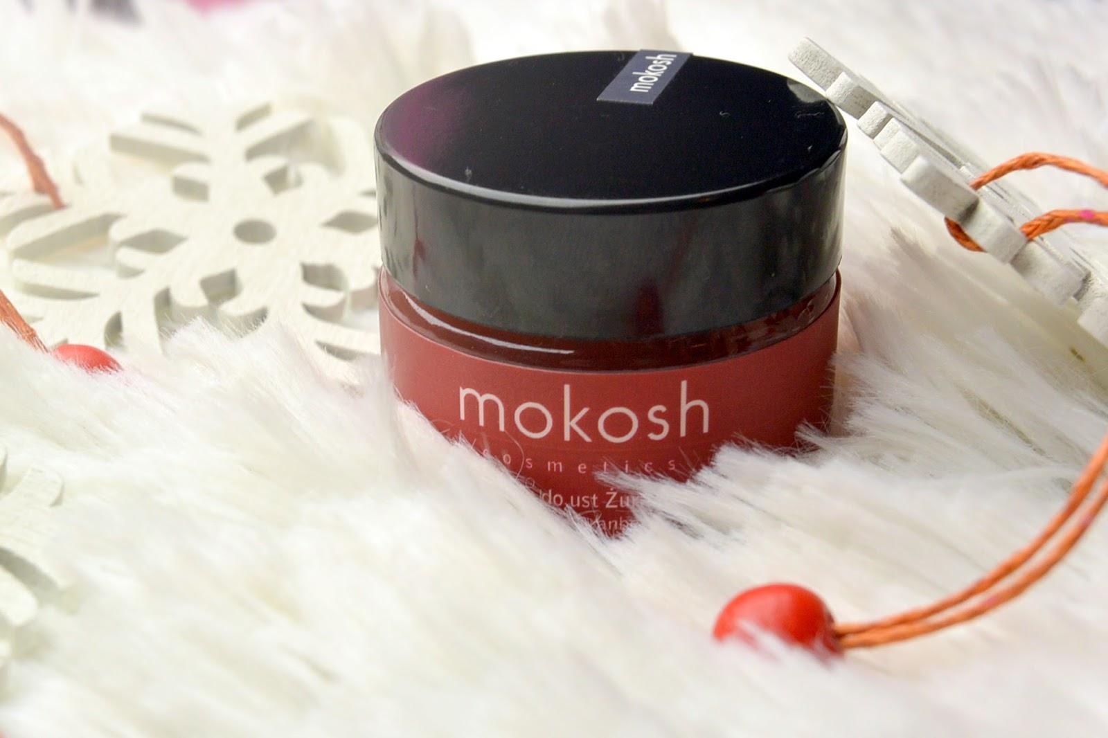 Żurawinowy balsam do ust Mokosh Cosmetics WOW!