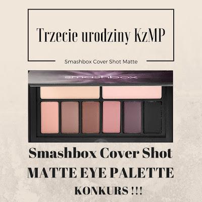 Trzecie urodziny bloga Kosmetyki z Mojej Półki | KONKURS !!!