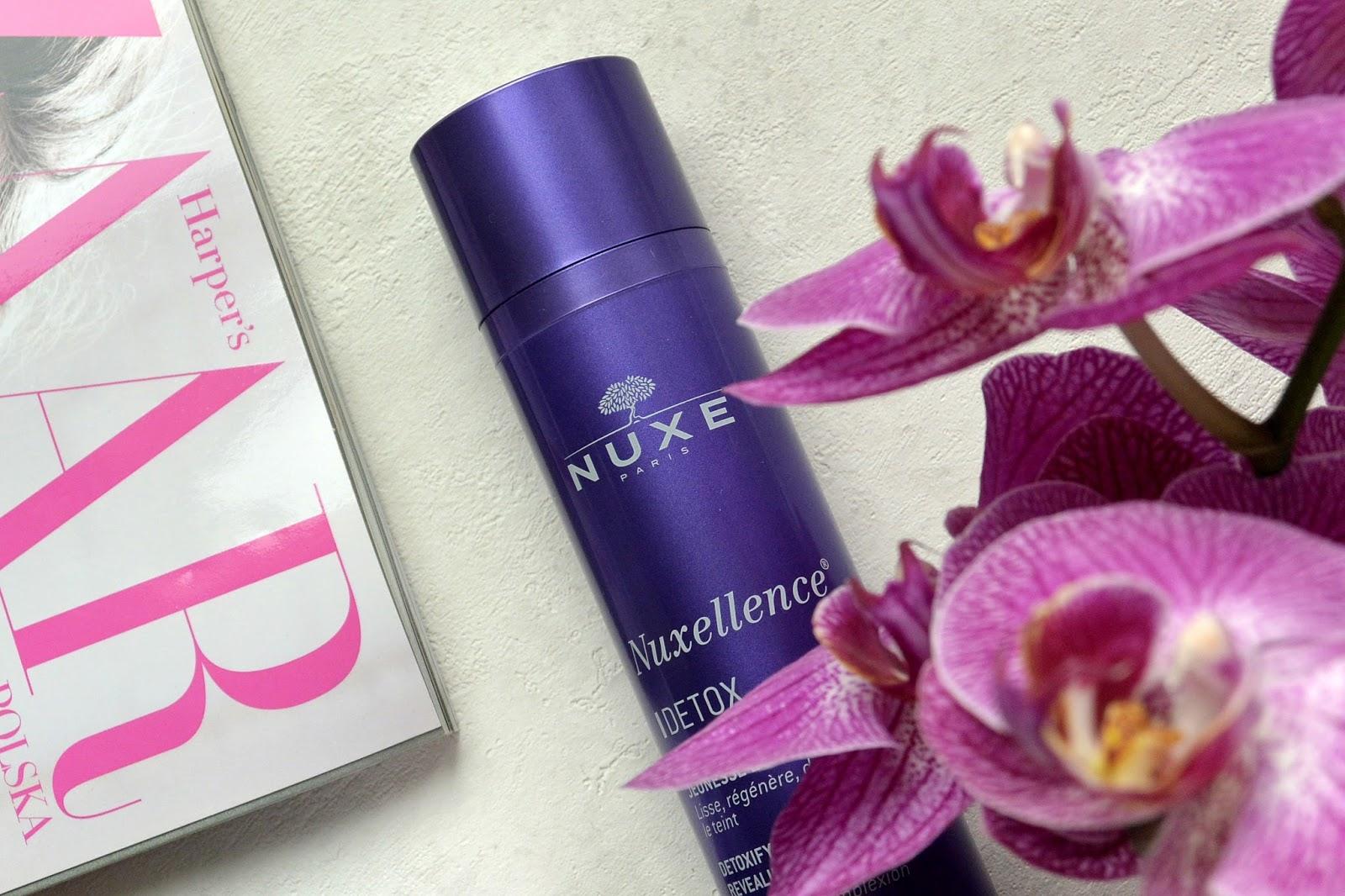 Nocna pielęgnacja skóry | NUXE Nuxellence Detox