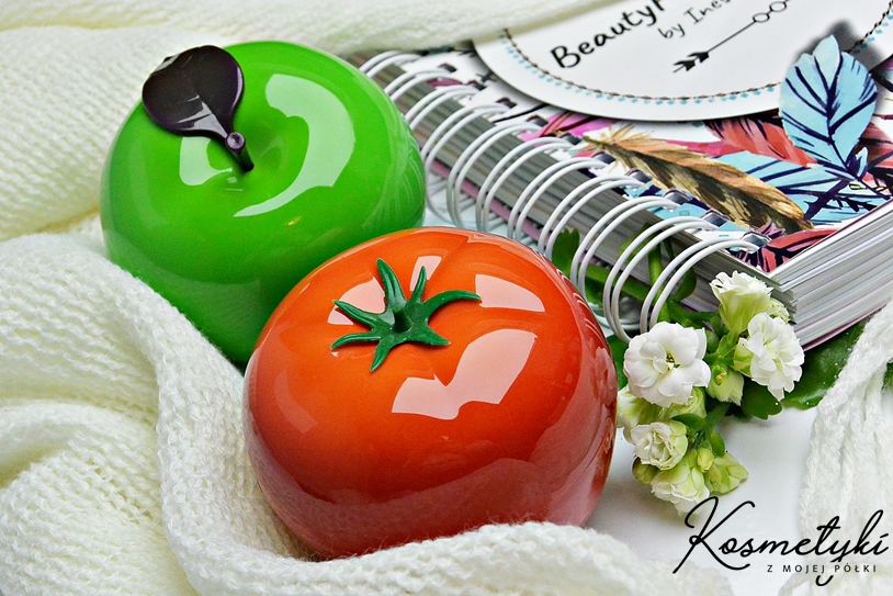 Peeling i maseczka po koreańsku | Appletox i Tomatox Tonymoly